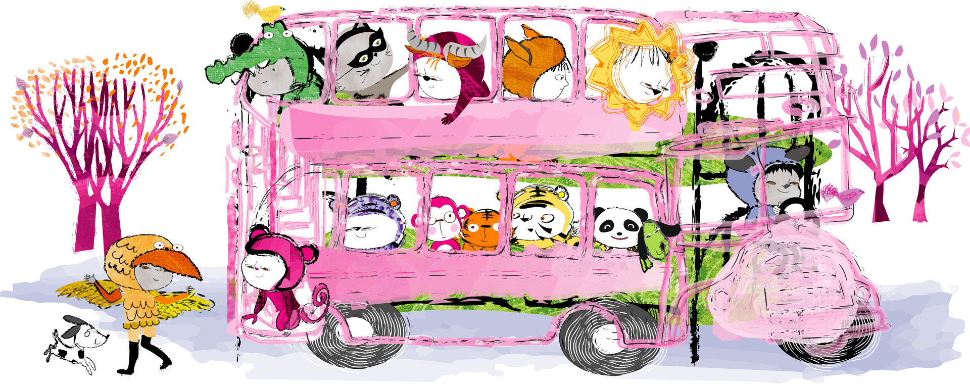 Zoo Bus by Kathryn Howard