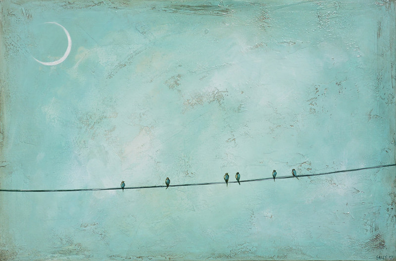 Six at Moonlight by Sally Adams