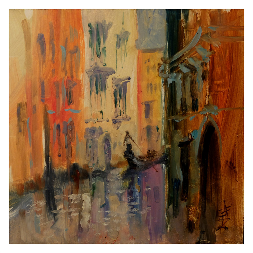 Venice 1 by Anne Farrall Doyle
