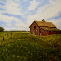 "Oil painting ""Lonesome"" by Gary Cheatham"