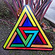 Double Penrose Triangle  by Isaac Carpenter