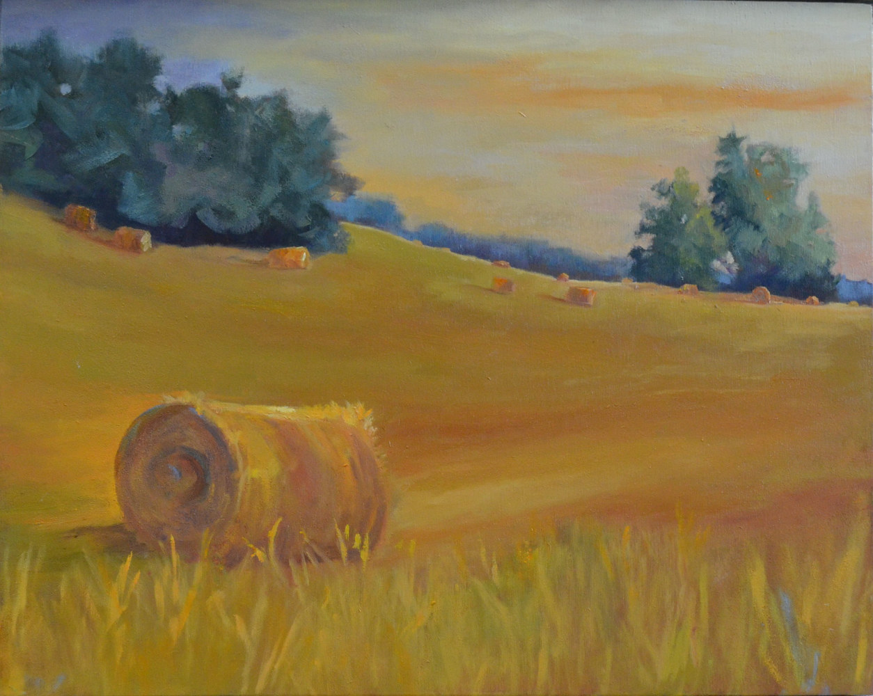 Away From the Crowd ll; 16 x 20; oil on cradled wood gallery panel - 08-0218 by Patricia Savoie