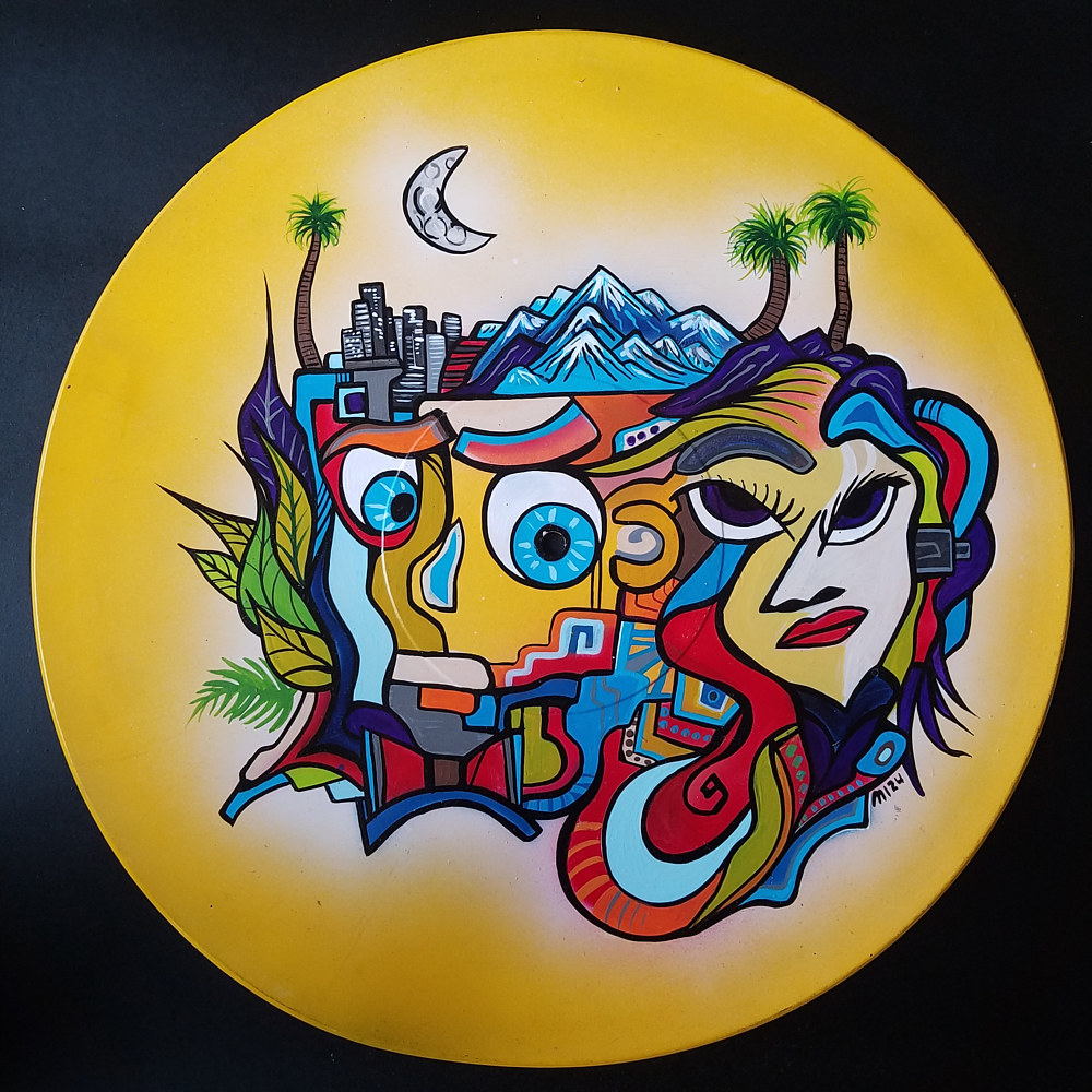 California Doodle Record  by Isaac Carpenter