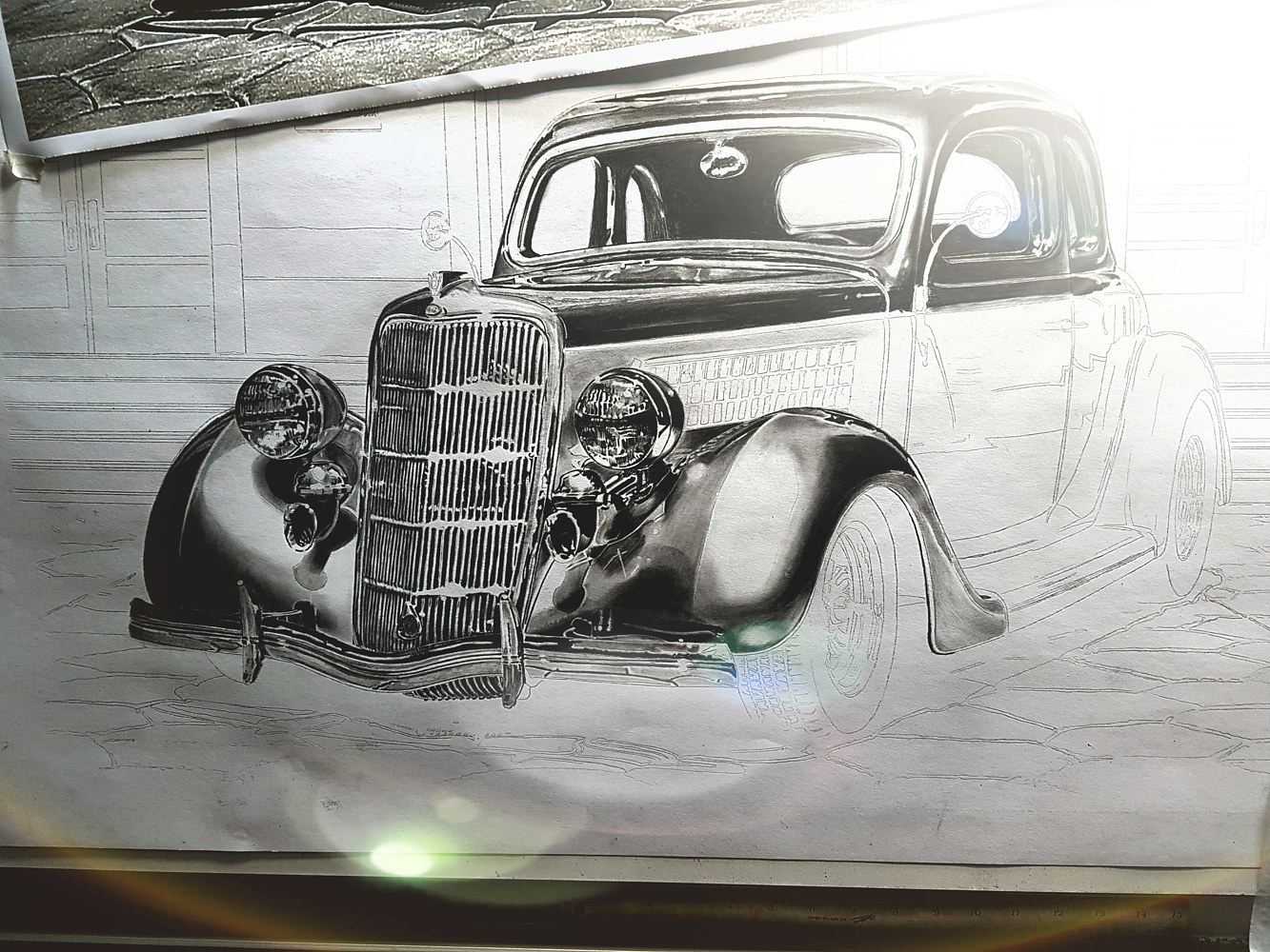35 Ford Progress by Dave Wishart