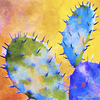 Print SONORA CACTUS 5 D by Todd Scott Anderson
