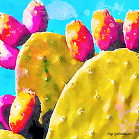 Print SONORA CACTUS 7 D by Todd Scott Anderson