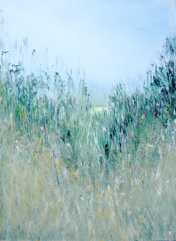 Print Prairie Grass and Sky by Marion Krahn