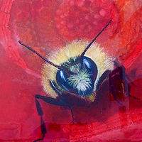 rusty-bee by Frederica  Hall