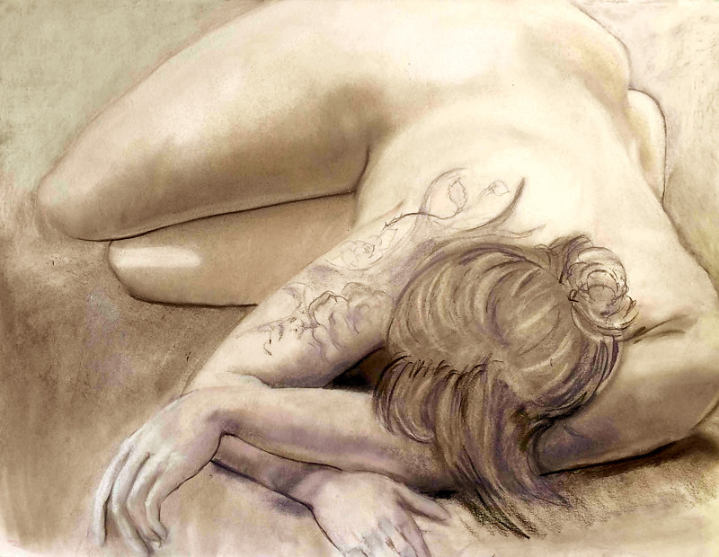 nude by Frederica  Hall