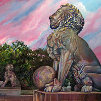 TheLion'sSunsetSmaller by Terry Joseph