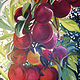 Acrylic painting Perfect Plums by Terry Cox-Joseph
