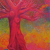 redtree by Frederica  Hall
