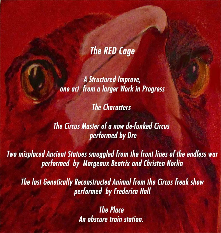 theredcage by Frederica  Hall