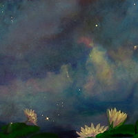 LILLIES IN THE MILKYWAY by Frederica  Hall