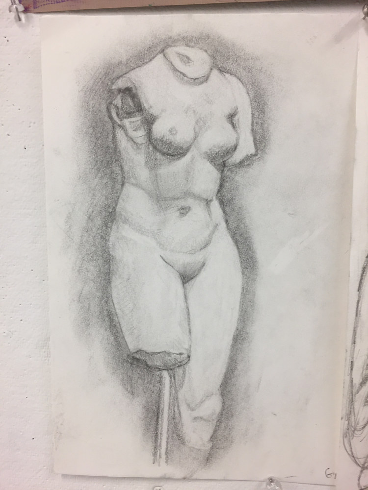 Drawing Museum Sketch by Anastasia O'melveny