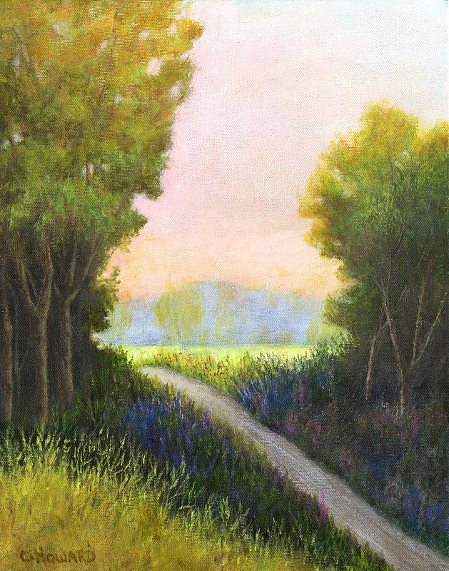 Acrylic painting Summer's Promise by Catherine Howard