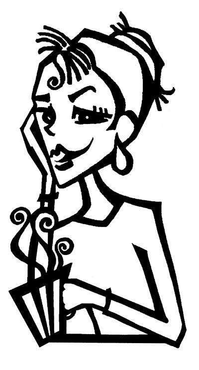 CCLadyCoffee by Terry Joseph