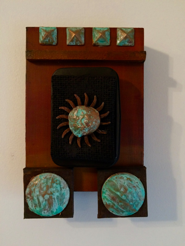 Hidden Secrets is a assemblage 5x7x1.5 inch  by Steve Latimer