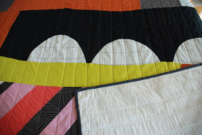 Stolz quilt detail by Stephanie Cormier