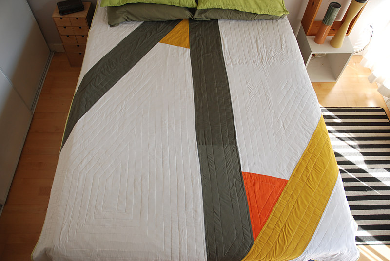 Z quilt by Stephanie Cormier