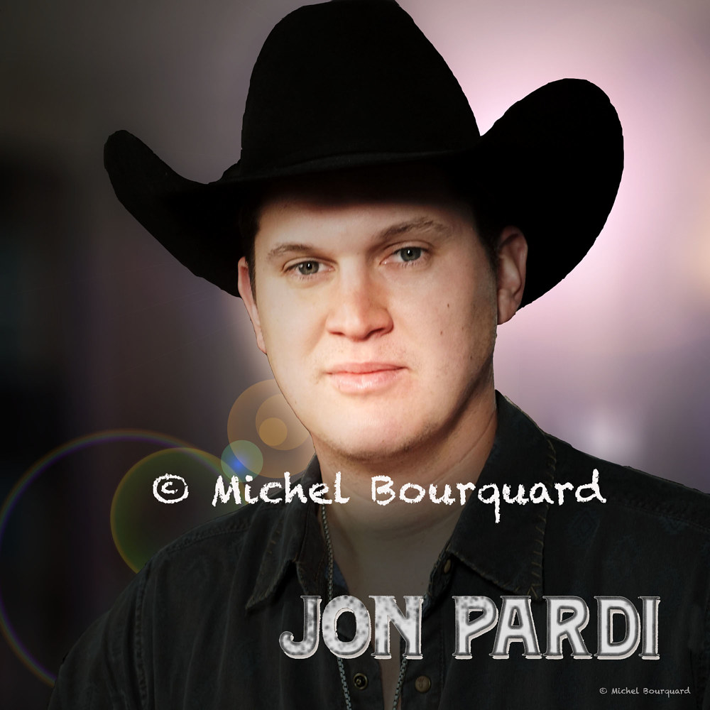 Jon Pardi at ACM @  by Michel Bourquard