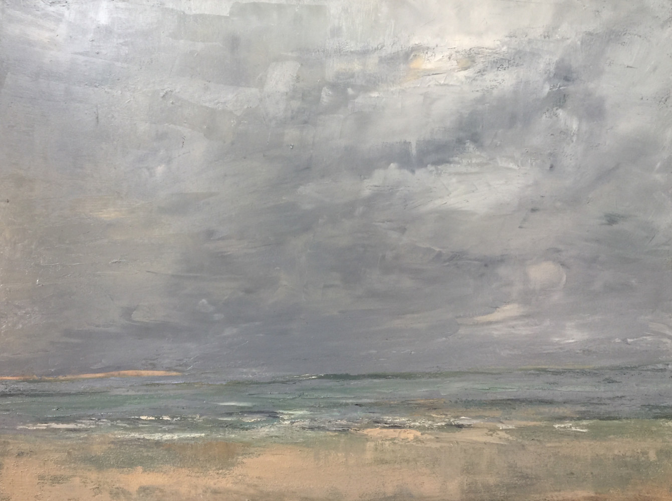 Oil painting After the Squall/SOLD/Cortile gallery by Nella Lush
