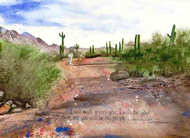 "Print ""I Will Walk"" by Jeanne McMenimen"