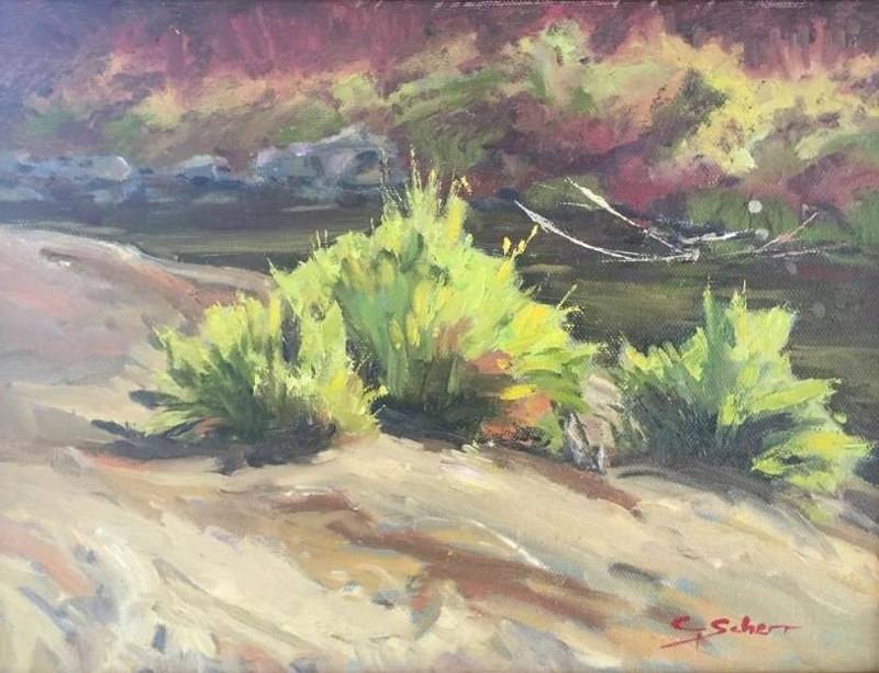 Pack River Foliage by connie scherr