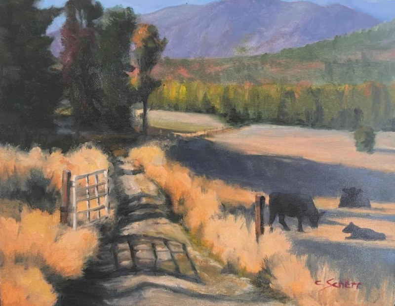 Clark Fork Farm by connie scherr