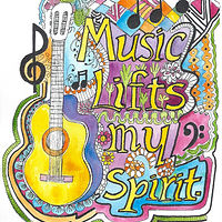 Music Lifts My Spirit by Kathleen Contri