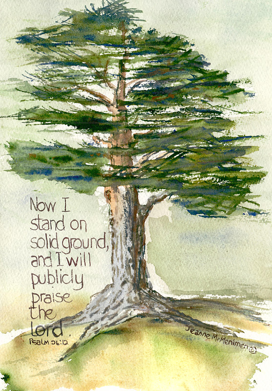 "Print ""Now I Stand"" by Jeanne McMenimen"