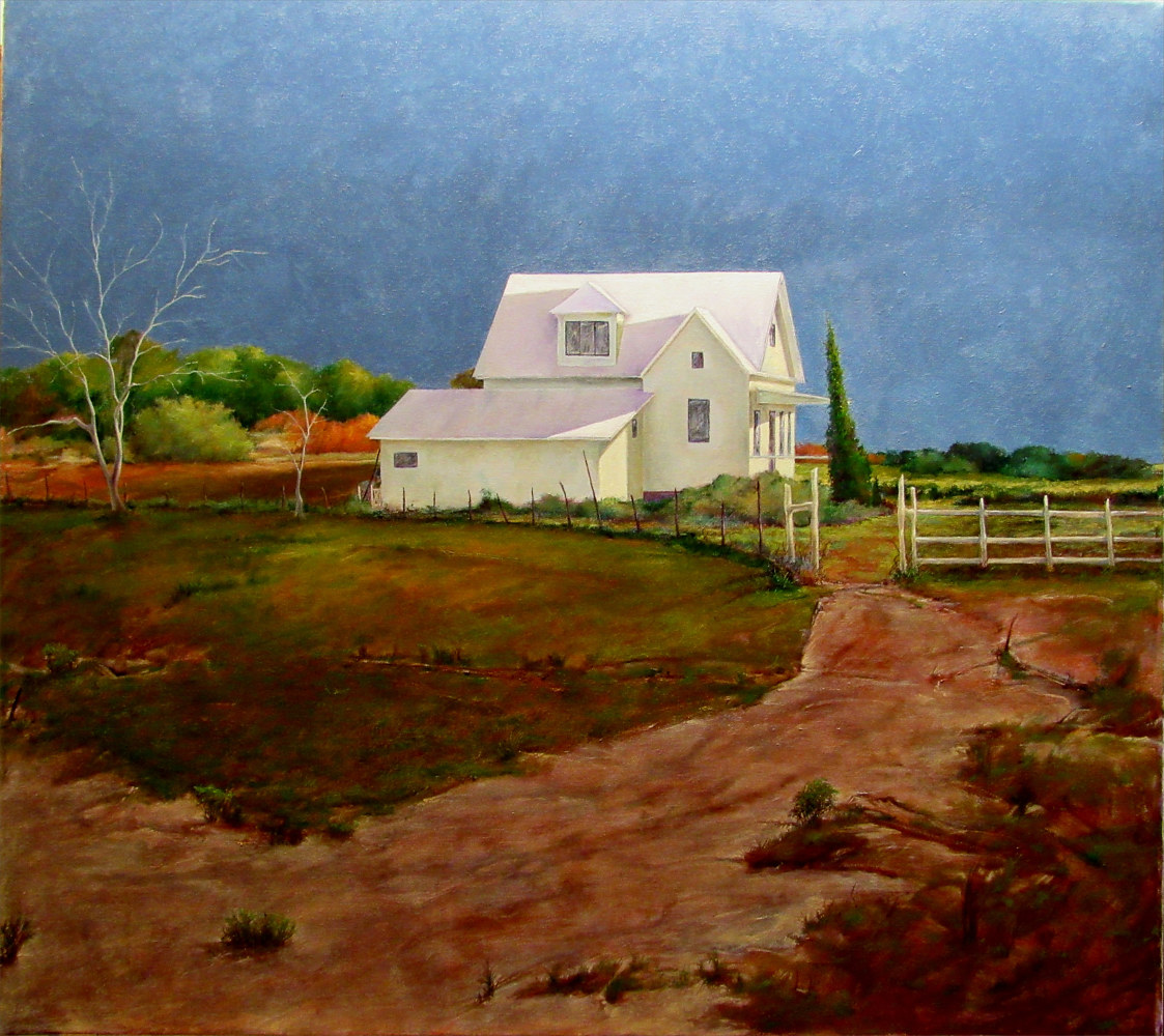 Uncle Bill Frank's, Jarrell, Texas 30x40 by Gary Nowlin