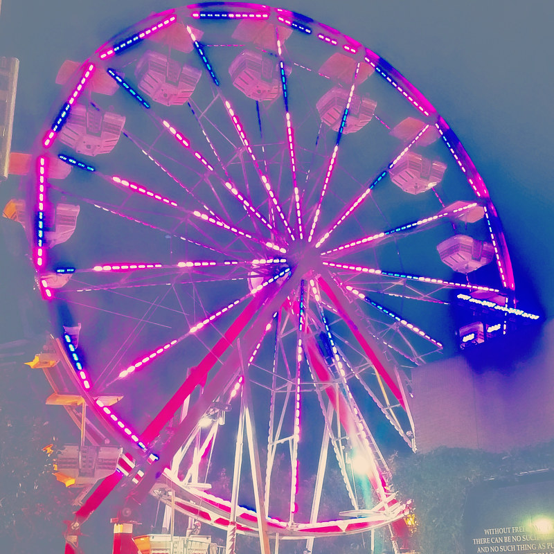 Photography Ferris Wheel by Jacqueline Bell johnson