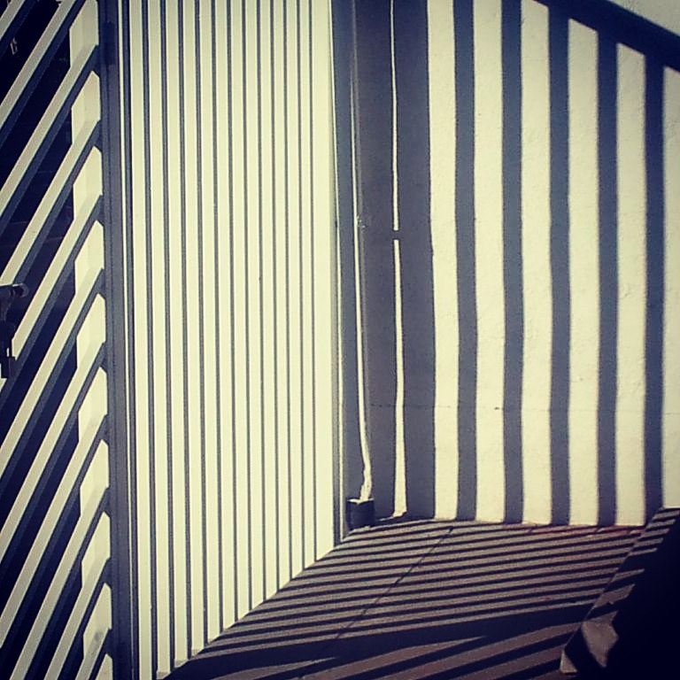 Photography Striped Corner by Jacqueline Bell johnson