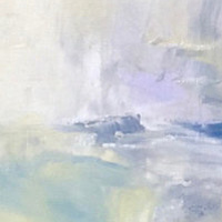 Oil painting Winds of Change series, 3 by Donna Bruni