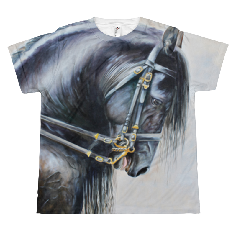 The Friesian Youth T by Debbie Hart