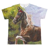 The Saddlebred Youth T by Debbie Hart