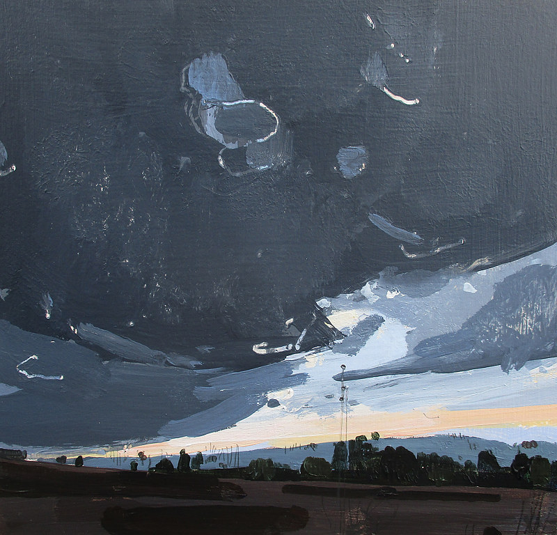 Acrylic painting North Gap by Harry Stooshinoff