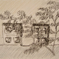 Drawing Ground Windows by Elaine Lauzon
