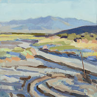 Oil painting Tonopah-Tidewater by Shawn Demarest