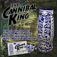 Cannibal King Cobolt limited edition by Kenneth M Ruzic
