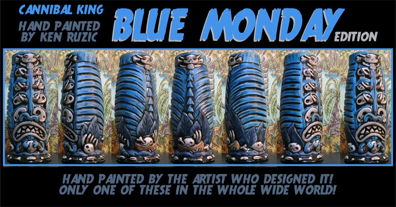 Blue Monday edition by Kenneth M Ruzic