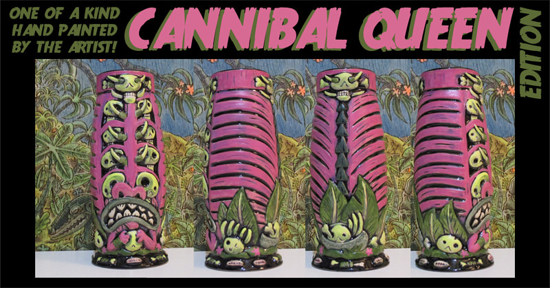 Cannibal Queen edition by Kenneth M Ruzic