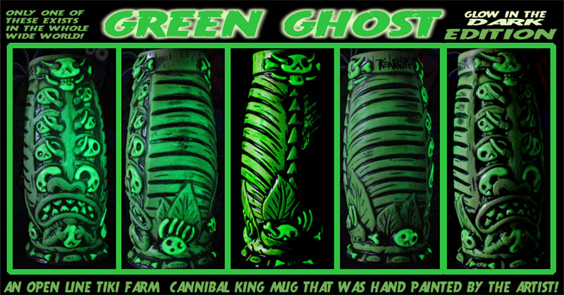 GREEN GHOST edition (UV ACTIVATED) by Kenneth M Ruzic