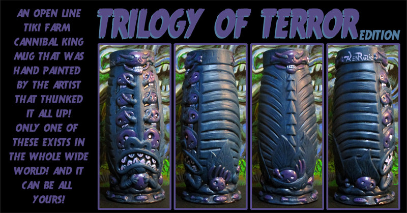 Trilogy of Terror edition by Kenneth M Ruzic