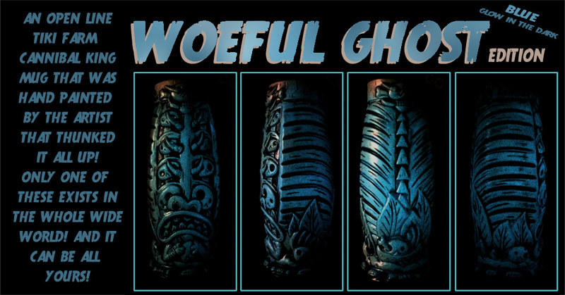 WOEFUL GHOST (UV ACTIVATED) by Kenneth M Ruzic