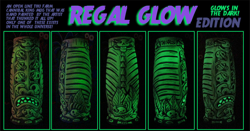 REGAL GLOW edition (UV ACTIVATED) by Kenneth M Ruzic