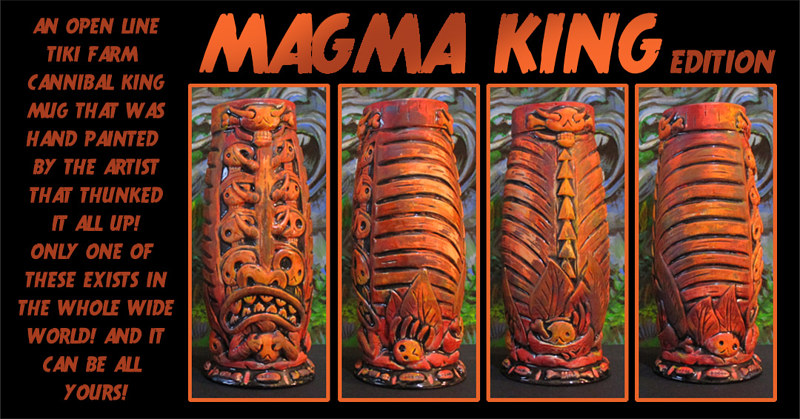 Magma King edition by Kenneth M Ruzic