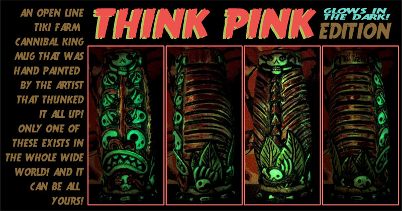 THINK PINK edition (UV ACTIVATED) by Kenneth M Ruzic
