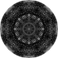 Print Hovig 17866 Powdered Carbon (1800x1800) by John Hovig
